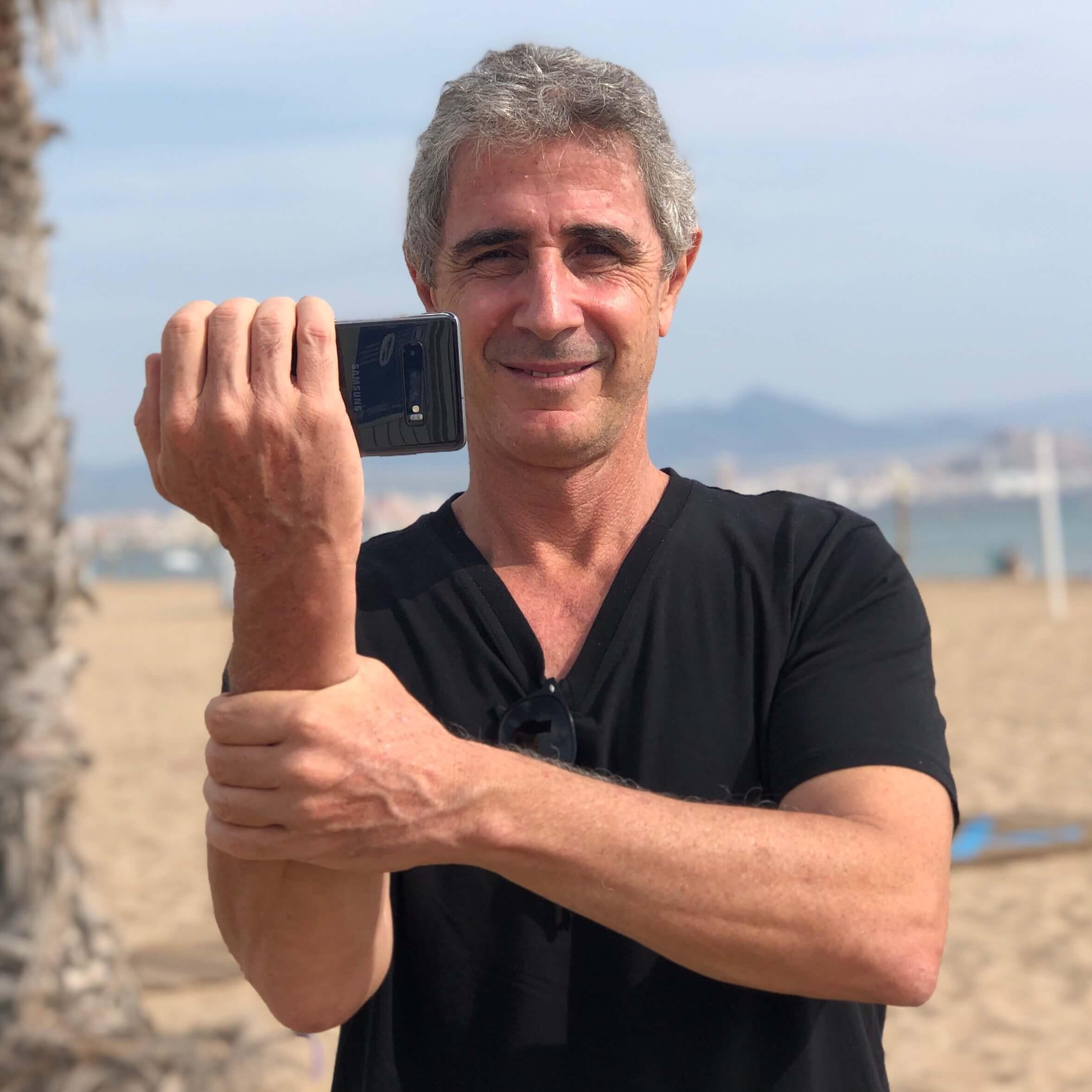Javier Cabrera, Formador Vídeo Móvil